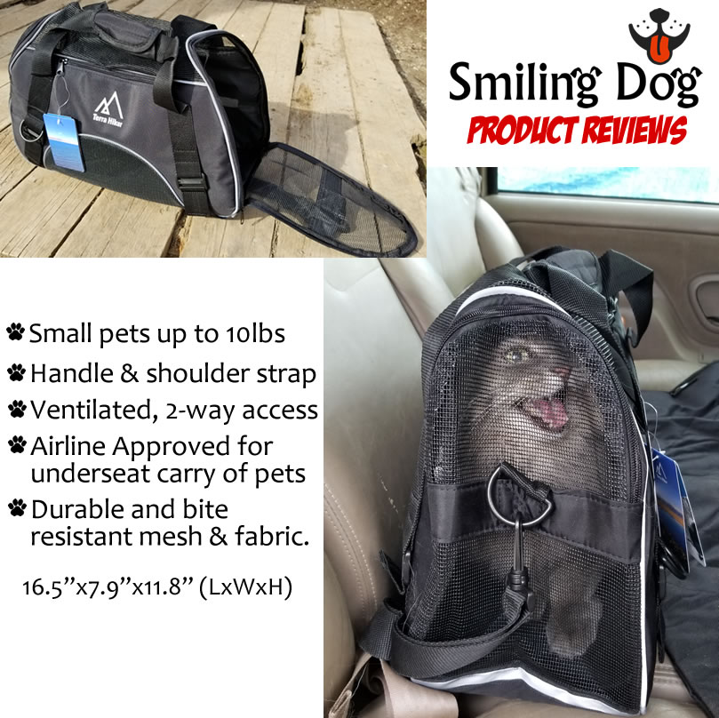Terra Hiker Pet Carrier - Underseat Airline Approved